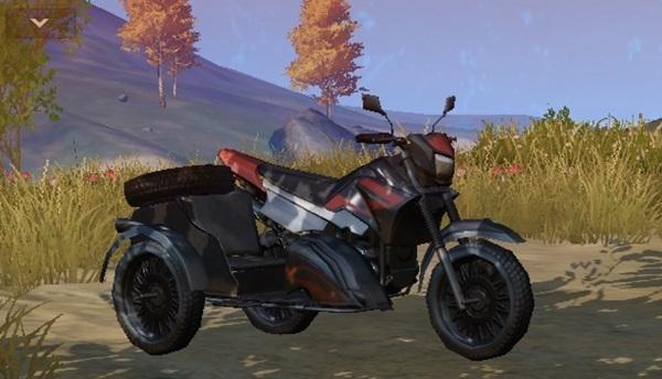 荒野行動の三輪バイクの性能・速度