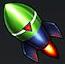 緑ロケットは贈物値が2000貯まる